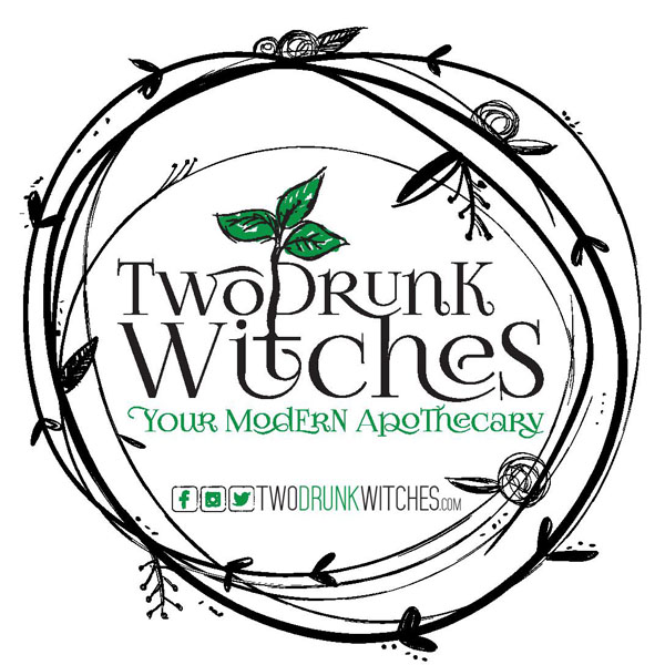 two drunk witches victoria, bc logo - vancouver island apothecary