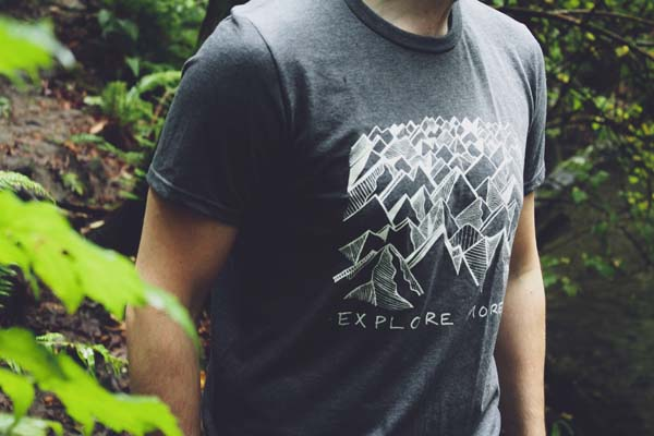 Explore more tshirt, handmade on Vancouver Island by Kindred Coast