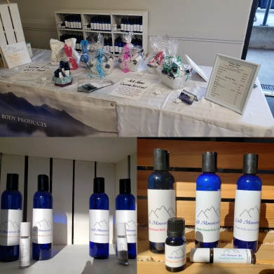 all natural bath and body products, Canadian made mother's day gift ideas