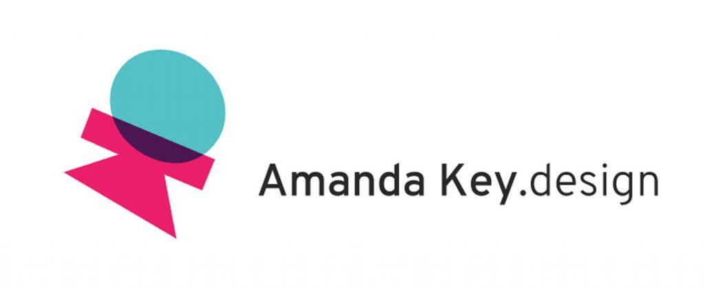 Amanda Key Designs logo - graphic designer on Vancouver Island