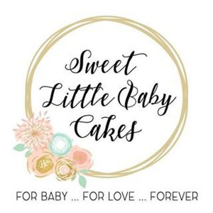 Sweet Little Baby Cakes logo, handmade baby products made on Vancouver Island, BC, Canada
