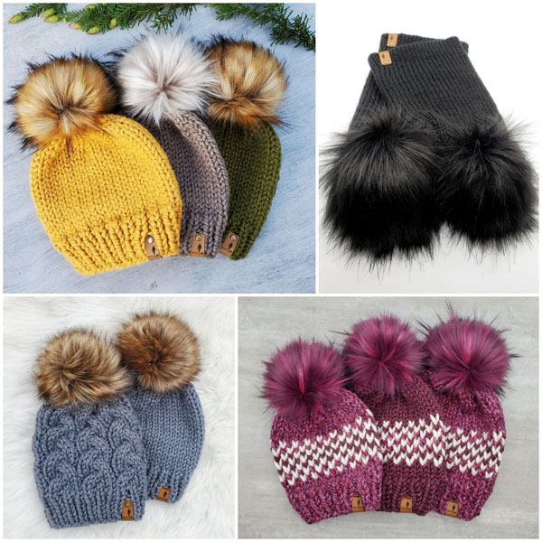 knit toques, christmas gift ideas from vancouver island