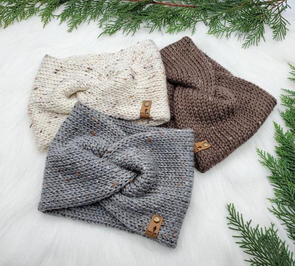 wool headbands made on vancouver island stocking stuffer ideas