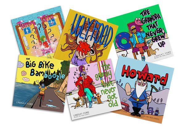 Locally written, illustrated, & printed Children's books Vancouver Island handmade stocking stuffer gift ideas