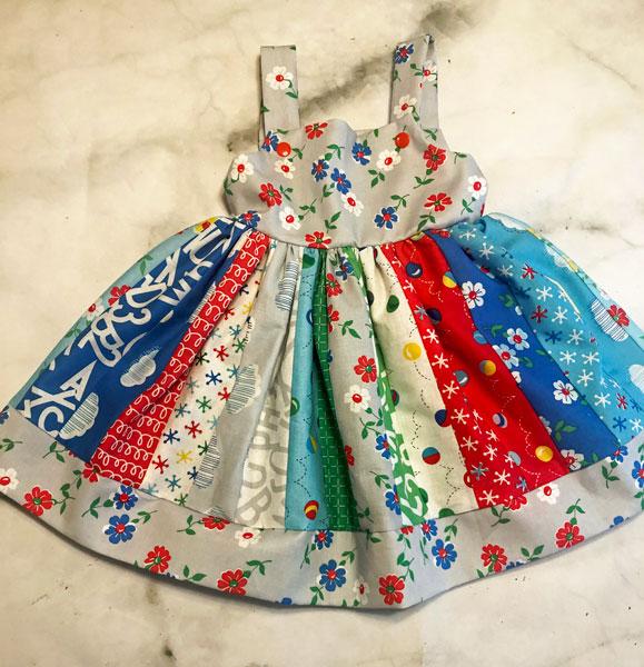 handmade children's dress made on Vancouver Island gift ideas