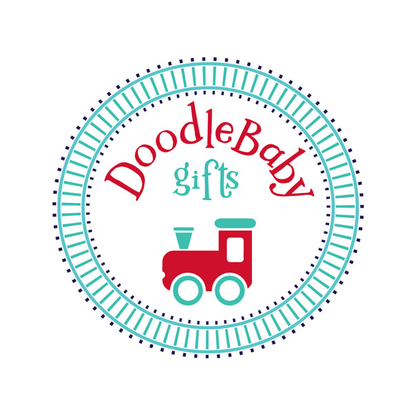 Doodlbaby gifts logo - Baby and kids clothing and home textiles made on Vancouver Island in Courtenay Canada