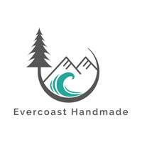 Evercoast Handmade Logo, made on Vancouver Island