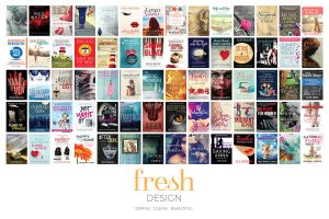 book covers designed by Vancouver Island graphic designer Fresh Design