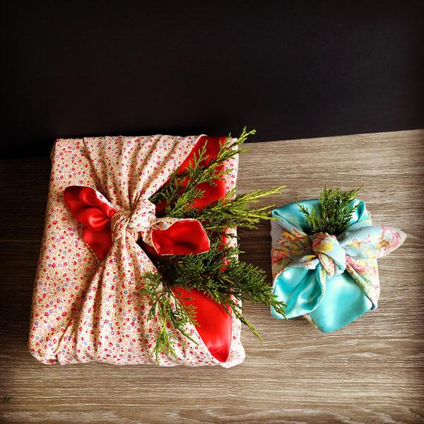 Furoshiko reusable Gift Wraps made on Saltspring Island BC