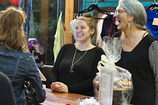 Clothing and locally made product store on Pender Island, Island Girls Boutique