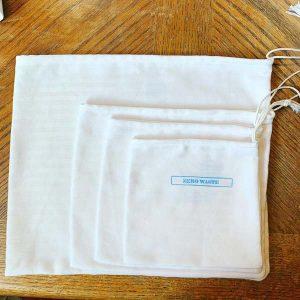 reusable produce bags hand made on Vancouver Island by Island Java Bag
