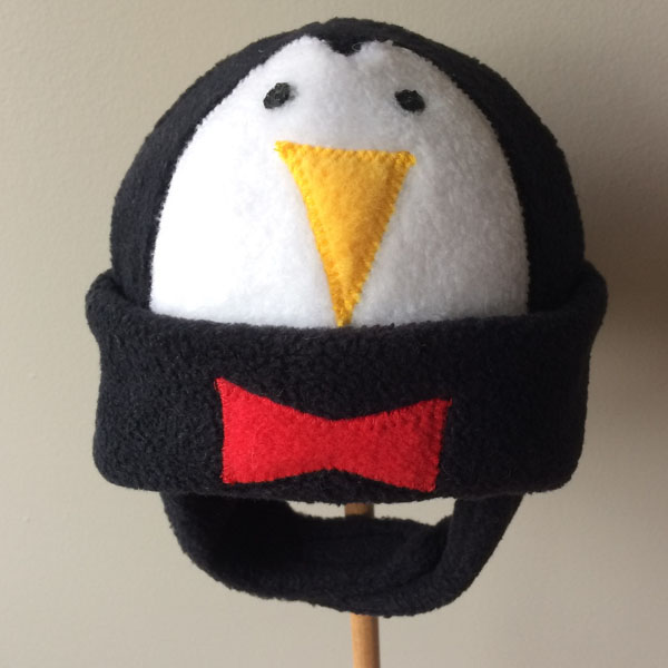 penguin baby hat, Vancouver Island made product