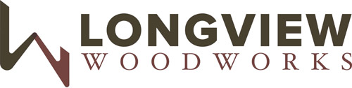 Longview Woodsworks logo, Vancouver Island Woodworker