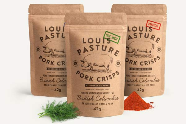 Vancouver Island Father's Day gift ideas, locally made pork crisps