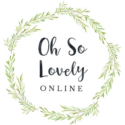 Oh So Lovely logo - Vancouver Island made jewelry