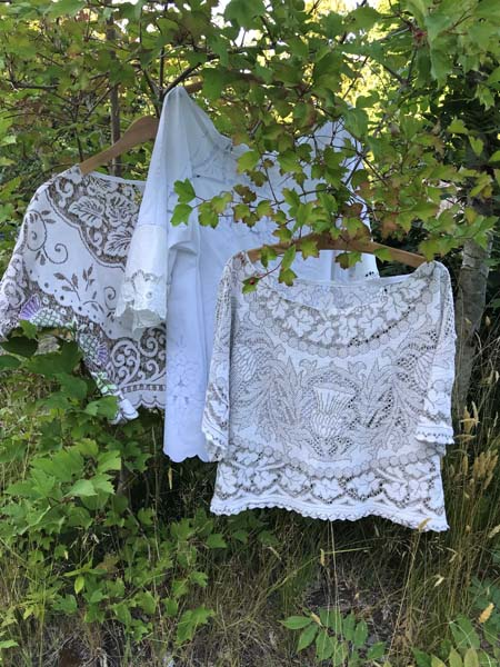 upcycled tops made sewn on Vancouver Island by Prim Stargazer in Qualicum Beach