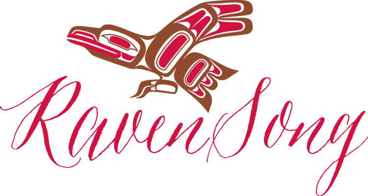 Ravensong Soap and Candle logo, Vancouver Island handcrafted soaps