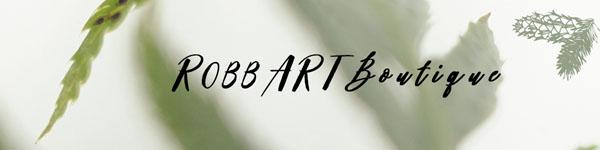 Robb Art Boutique logo - Vancouver Island Oil Landscape specialist in Nanaimo, B.C.