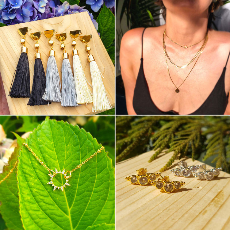 gift ideas made on vancouver island by Sunday Jewelry