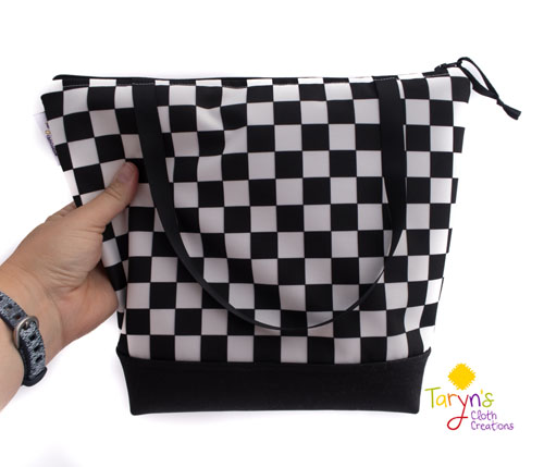 Reusable lunch bag, product handmade on Vancouver Island by Taryn's Cloth Creations