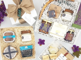 Vancouver Island, B.C., and Canada made curated gift boxes - Taylor and Twine