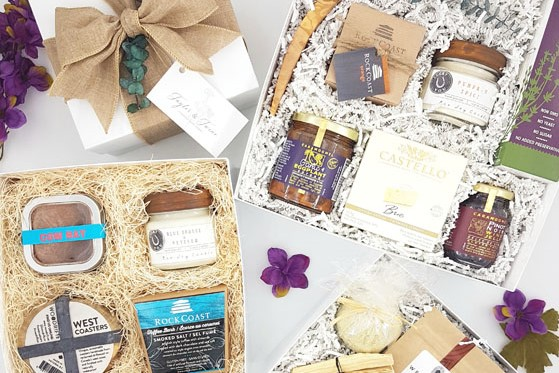Vancouver Island, B.C., and Canada made curated gift boxes made locally in Victoria - Taylor and Twine