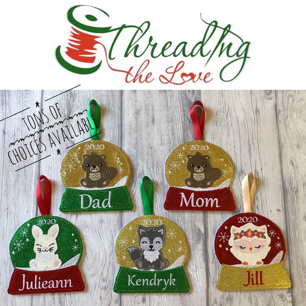 personalized christmas ornaments made on vancouver island