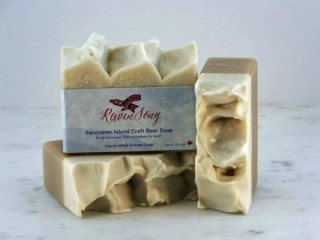 Vancouver Island craft beer soap, Father's Day gift ideas by Ravensong Soap
