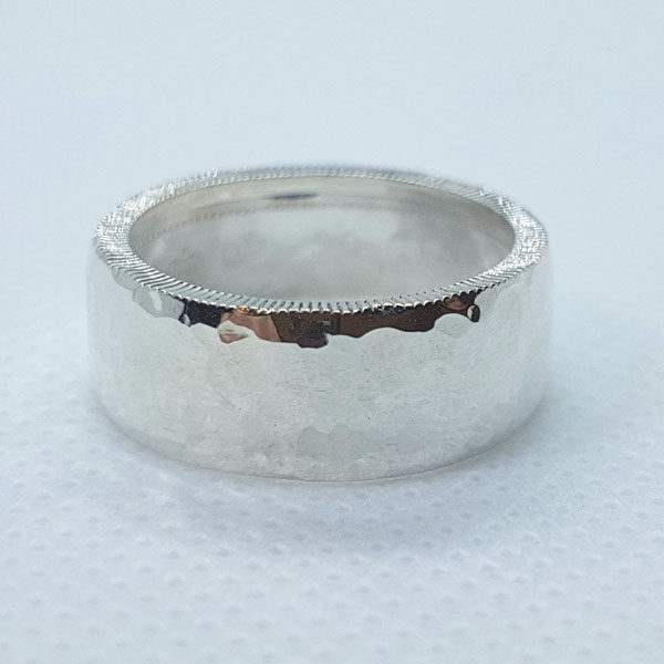 coin ring, product handmade in Nanoose Bay, B.C., Canada, on Vancouver Island by A Welcome Change