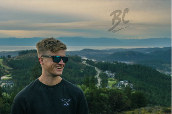 Mount Finlayson hoodie made on Vancouver Island by BC Brands