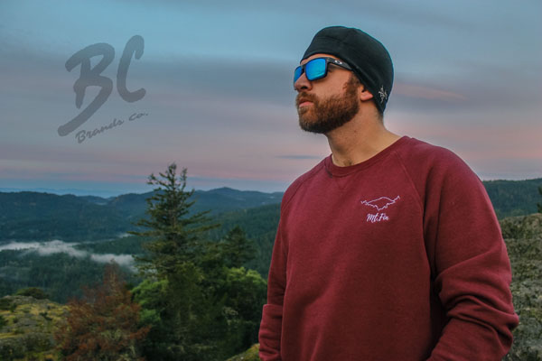 Mount Finlayson hoodie made on Vancouver Island in Victoria