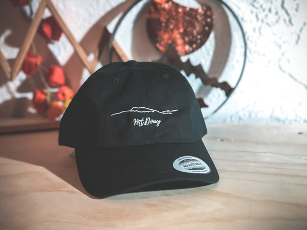 Mount Doug ball cap made on Vancouver Island by BC Brands