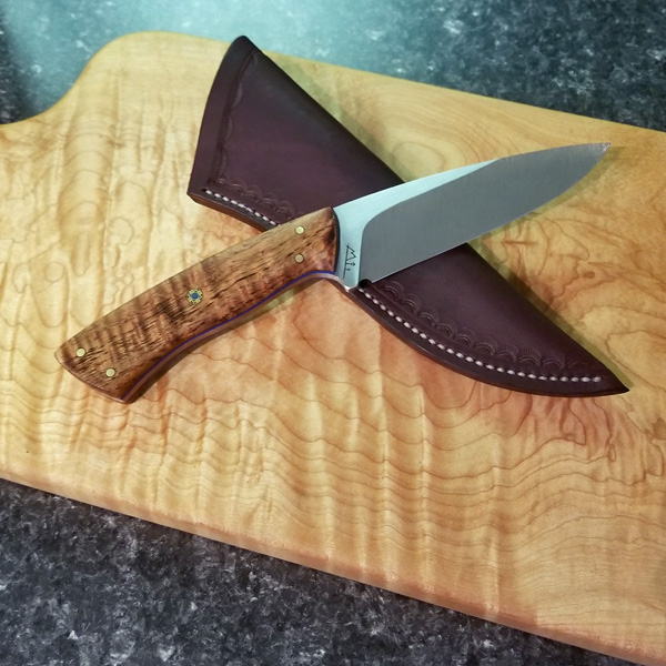 edc knife product made in Canada on Vancouver Island by Beval Forge