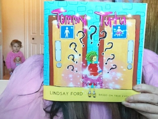 Tommy Tutu book about gender profiling, Vancouver Island author Lindsay Ford (Bread and Clutter)