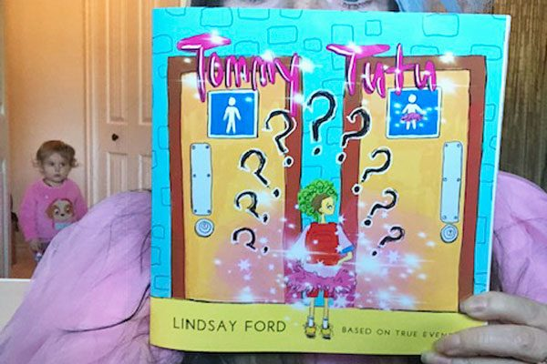 image of Tommy Tutu book, written by Lindsay Ford Vancouver Island author and illustrator