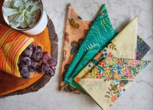 Vancouver Island made beeswax wraps