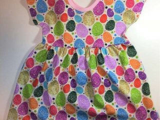 Vancouver Island made Easter gift ideas - Easter egg dress