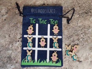 Vancouver Island made easter gift ideas, tic tac toe game