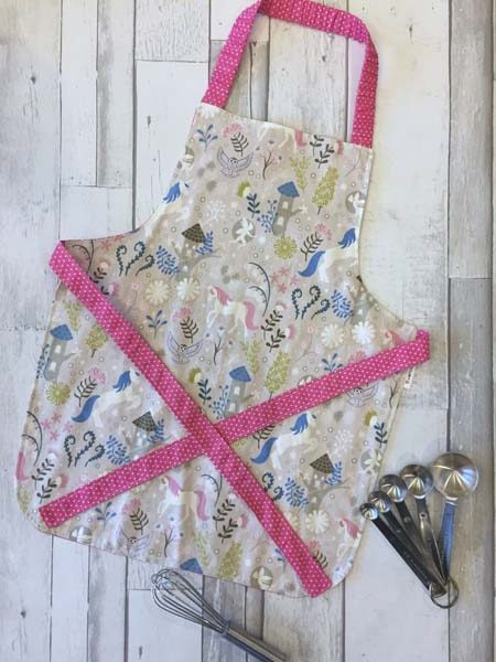 children's unicorn apron made on Vancouver Island by Evercoast in Victoria