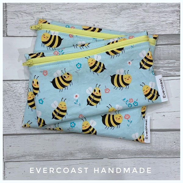 vancouver island stocking stuffer ideas, custom handmade reseusable bags made in victoria