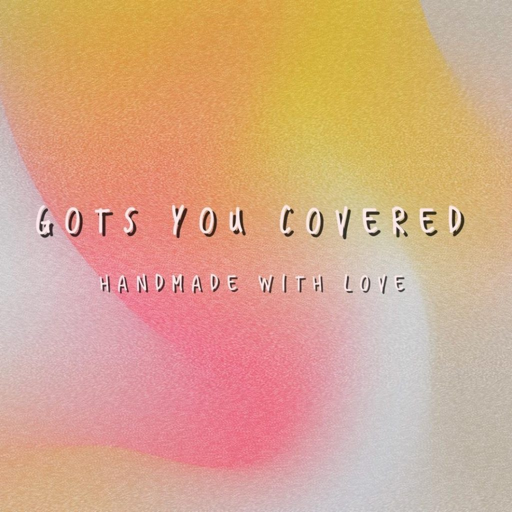 got you covered logo, hand made blankets from vancouver island