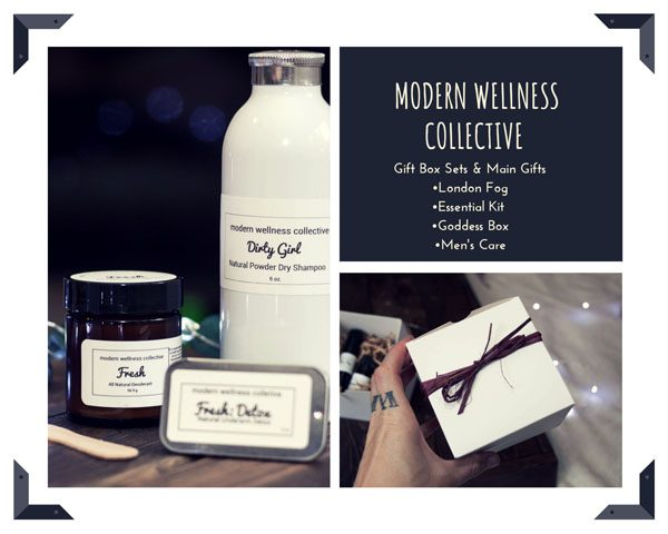 all natural gift box sets from modern wellness collective made on vancouver island bc
