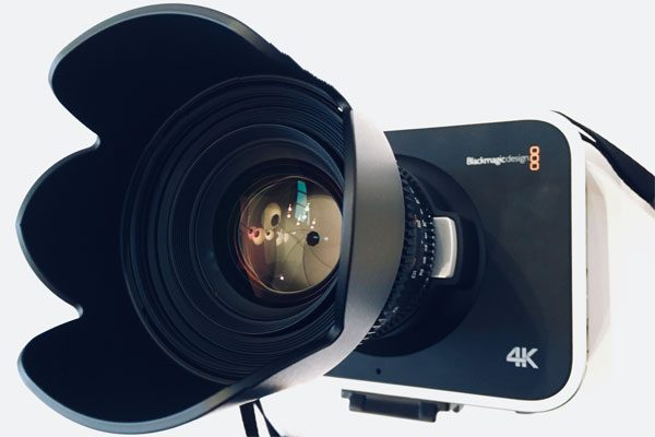 Image of 4K camera, Vancouver Island videographer Iris Pictures