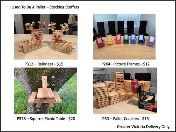 upcycled wooden creations made on Vancouver Island
