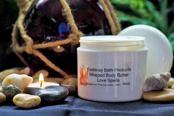 natural whipped body butter made in Nanaimo BC by Kootenay Bath Products