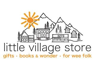Little Village Store logo, Vancouver Island children's store in Cumberland, B.C.