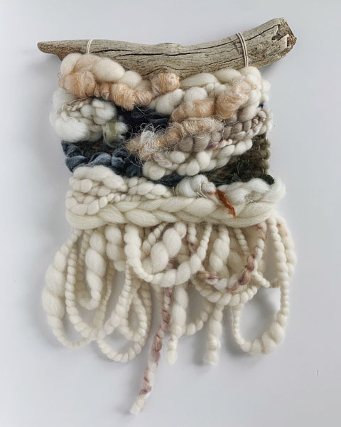 woven wall hanging, gift ideas from vancouver island