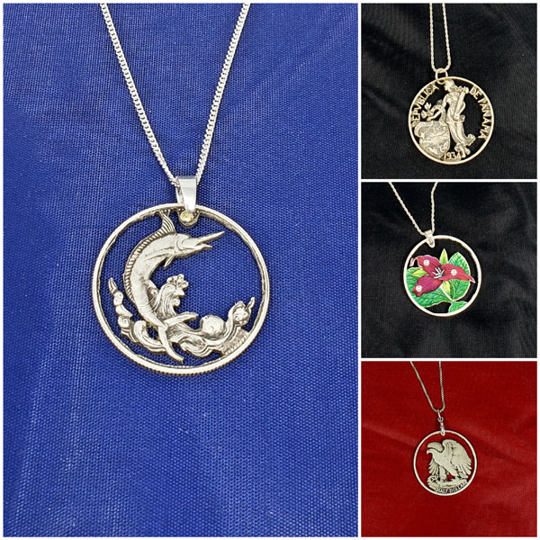 handmade coin jewelry from vancouver island