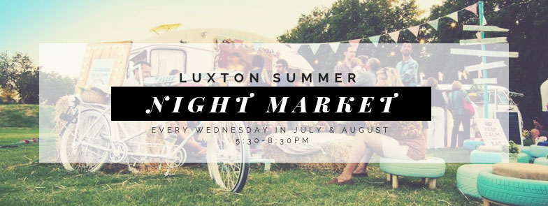 luxton summer night market, Vancouver Island market in Langford, B.C.