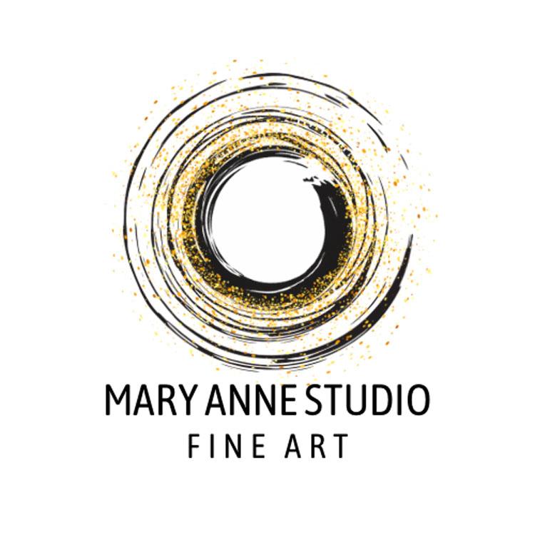 Mary Anne Studio Fine Art logo, Vancouver Island artist
